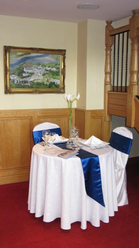 Wedding Table in Foyer
